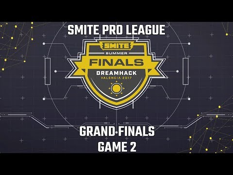 SMITE Pro League Summer Finals 2017: Grand Finals (Game 2)