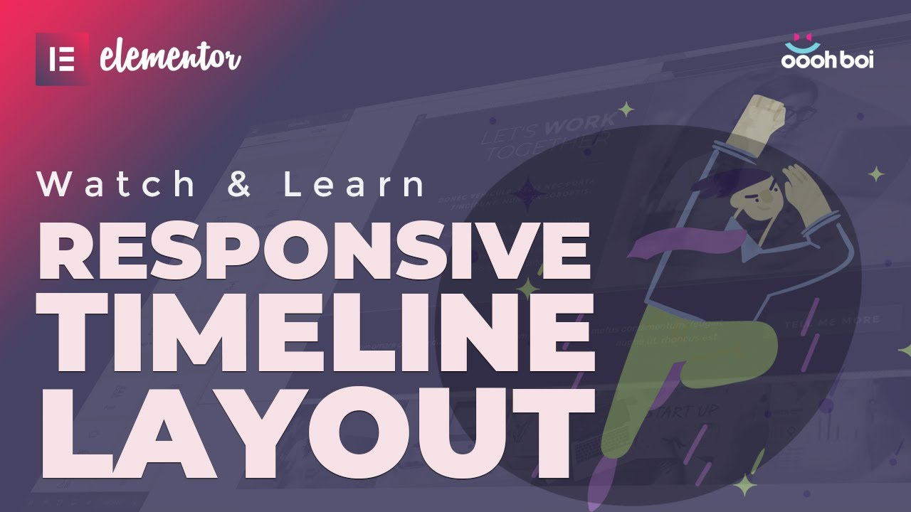 Responsive Timeline Layout in Elementor