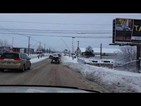 Winter Drive In Boise