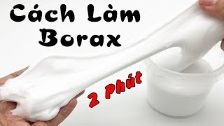 How To Make Borax From 2 Simple Components (Washing Powder And Salt)