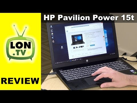 HP Pavilion Power Gaming Laptop 15t Review - 2017 Low Cost with GTX 1050 !
