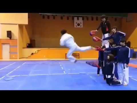 Quattro calci in volo Campione arti marziali