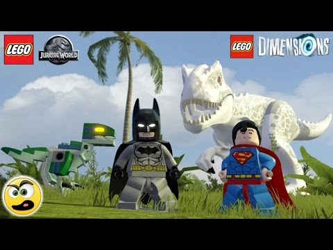 Lego Dimensions Batman e Superman na dimensão do Lego Jurassic World - Caraca Games: Sonic na Dimensão do Lego Jurassic World:     https://www.youtube.com/watch?v=Ea1GKILC-Uc  Série LEGO Dimensions:     https://www.youtube.com/watch?v=GObSn791x-k Batman e Superman na dimensão do Lego Jurassic World?   Isso mesmo!   Heeeheeee!!!    =D O nome desse jogo é LEGO Dimensions     =)