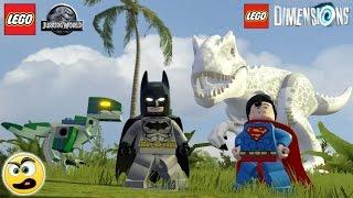 Lego Dimensions Batman e Superman na dimensão do Lego Jurassic World - Caraca Games