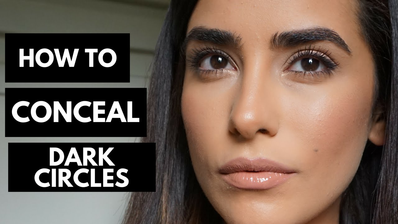 A Full Coverage Makeup Tutorial Hiding DARK CIRCLES!