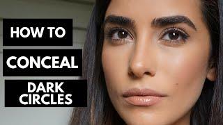 A Full Coverage Makeup Tutorial Hiding DARK CIRCLES!