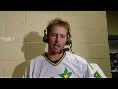 Mike Modano postgame interview 10 Apr