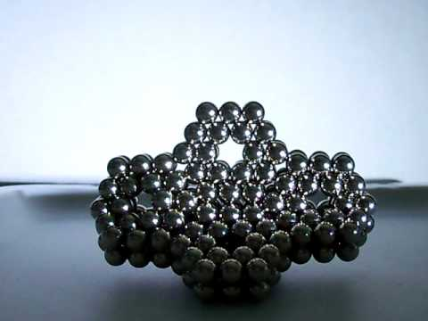 something cool to build with bucky balls - YouTube