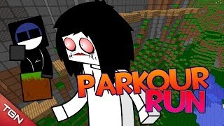 MINECRAFT PARKOUR: ¡RUN! W/BERSGAMER