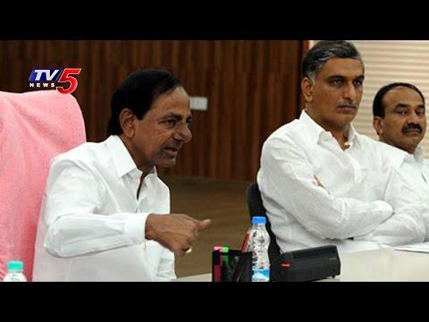 CM KCR Reviews Kaleshwaram Works Live from Pragati Bhavan, Express Happy   TV5 News