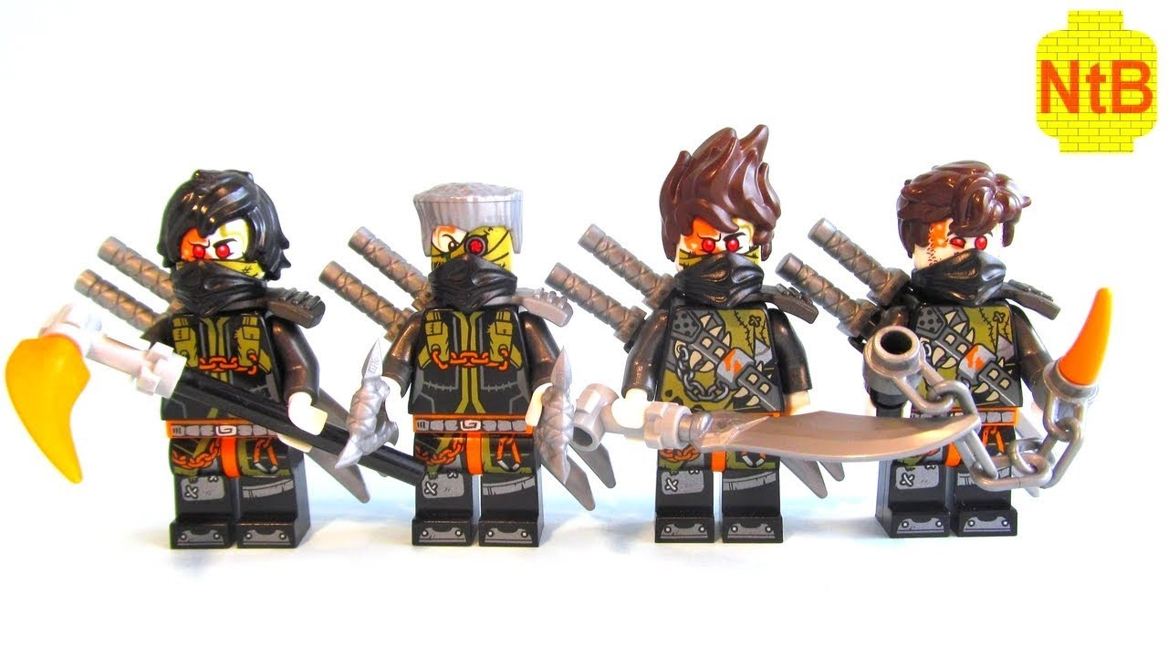 Lego Ninjago Hunted Custom Dragon Hunters Ninja Minifigures Youtube