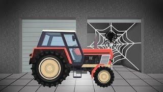 Tractor For Kids | fairy tales | Agricultural Machinery | Traktor Bajki Dla Dzieci - Konstrukcja
