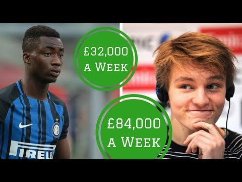 7 Best Paid Teenagers in Football | HITC Sevens