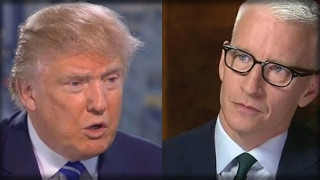 CNN IS OVER! TRUMP WILL MAKE ANDERSON COOPER CRY AFTER WHAT HE DID TODAY