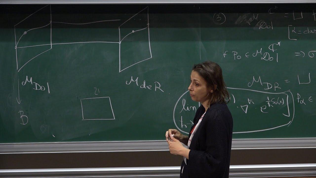 Repeat Olivia Dumitrescu - Lagrangian Fibration of the de Rham