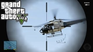 GTA 5: Sniper Location + Shooting Gameplay! Where To Find The Sniper Rifle (Grand Theft Auto V)