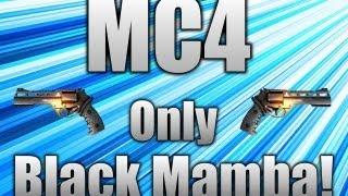 Modern Combat 4: Zero Hour - Only Black Mamba!