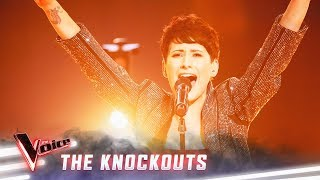 The Knockouts: Diana Rouvas sings 'I'll Never Love Again' | The Voice Australia 2019