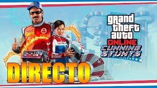 GTA V PROBANDO CUNNING STUNTS EN DIRECTO