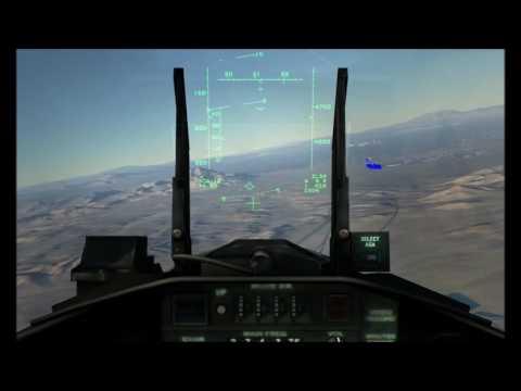 DCS FC F-15 - NEVADA LANDING FAULTY CONTROLS
