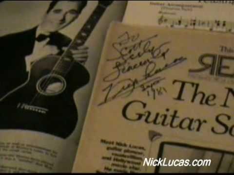 NICK LUCAS - Picking the Guitar (1922)