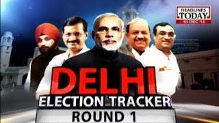 News Today At Nine: Delhi Election Tracker Round 1 (Part 2)