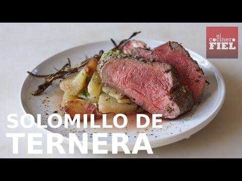 Solomillo De Ternera Al Horno Youtube