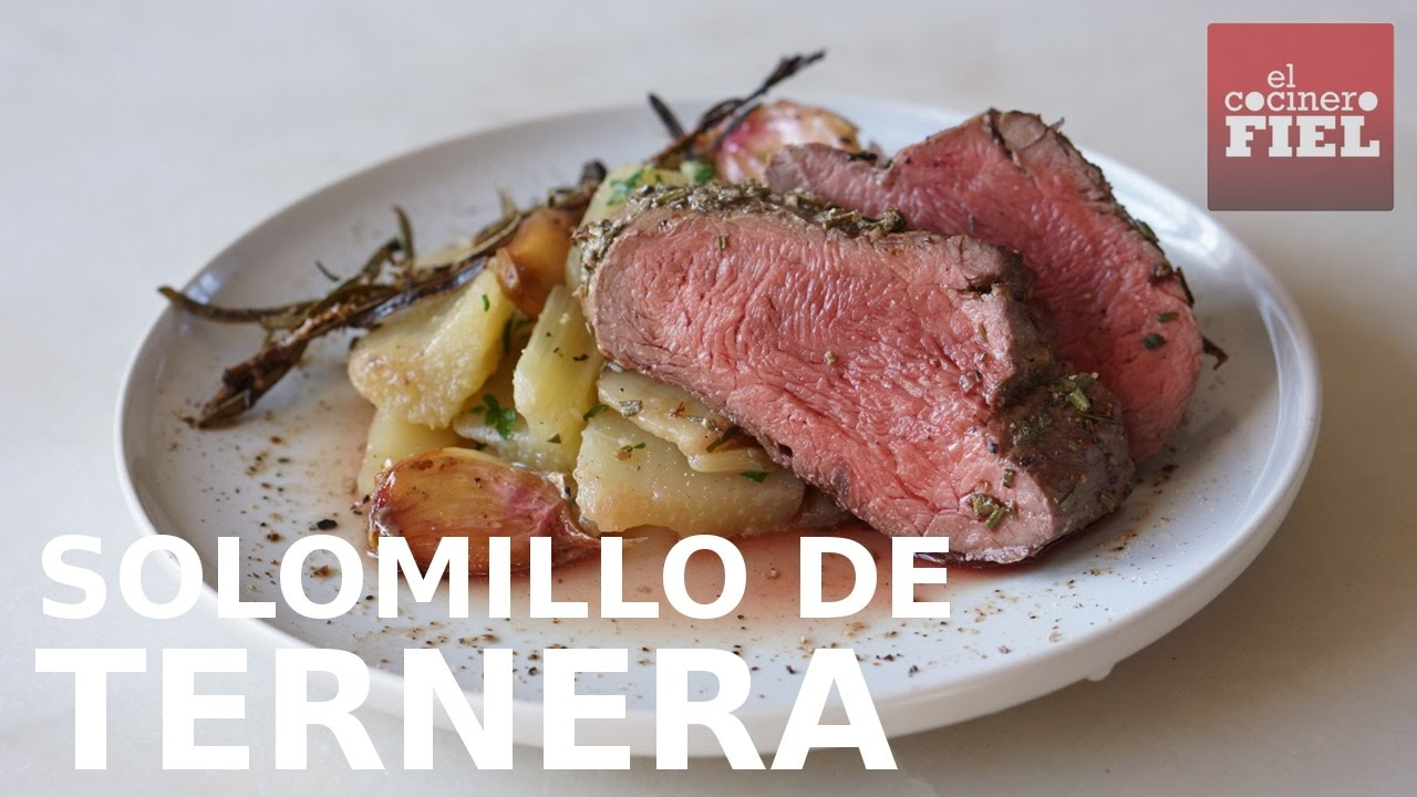 Solomillo De Ternera Al Horno Youtube