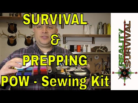 Survival and Prepping Product Of The Week - Sewing Kit