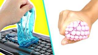 Satisfying Slime DIYs & LIFE HACKS! DIY Slime Life Hacks EVERYONE Should Know!