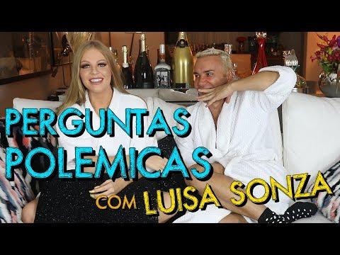 Perguntas Polêmicas com Luísa Sonza  HotelMazzafera