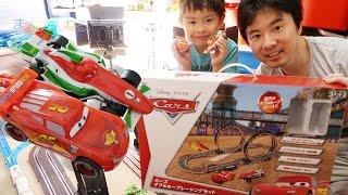 対象年齢3歳以上?! カーズ ダブルループレーシングセット Cars Double Loop Racing Set thumbnail