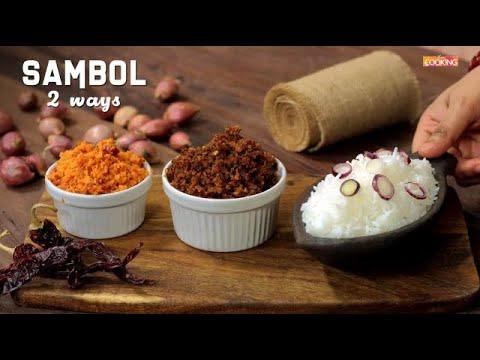 Sambol 2 Ways | Pol Sambol | Masi Sambol | Sri Lankan Food