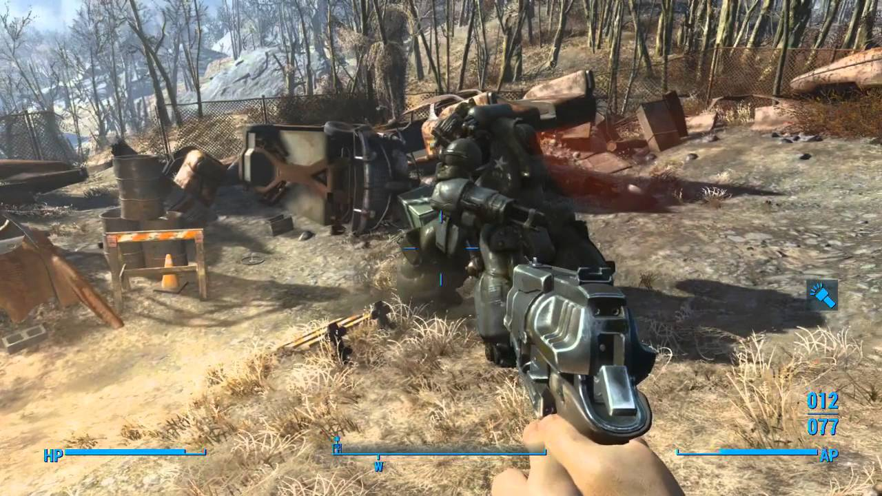 Fallout 4 - Top 6 Early Game Weapons - YouTube