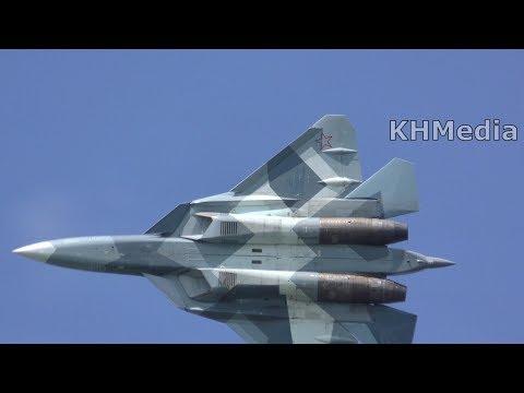 Су-57 МАКС 2017