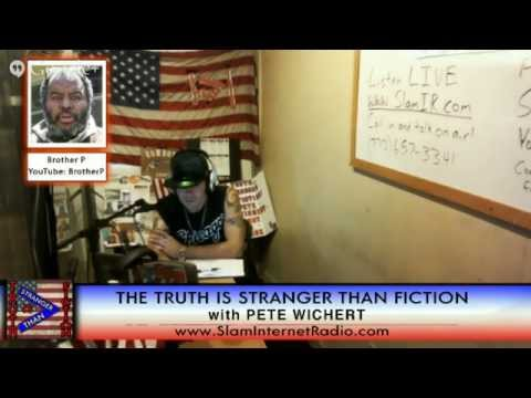 Truth Is Stranger Than Fiction With Pete Wichert Brother P John Ragan Koerri Washington 9-28-2014