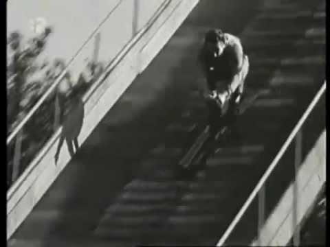 Bratislava - Skokanský mostík na Kamzíku (1962)