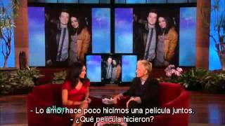 Vanessa Hudgens on Ellen (2011) [Spanish/Español]