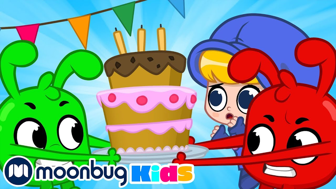 The Big Birthday Cake Chase with Orphle ++ | My Magic Pet Morphle | Cartoons for Kids | Moonbug Kids