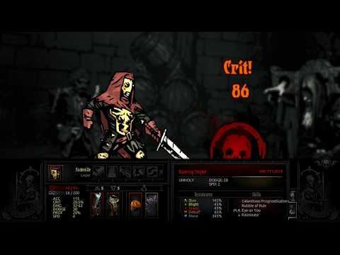 Darkest Dungeon - Occultist & Leper vs Gibbering Prophet