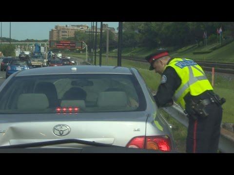 Enforcing HOV lanes