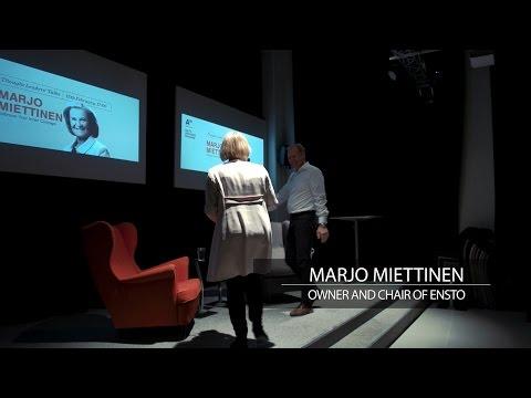 AVP Thought Leaders' Talk by Marjo Miettinen