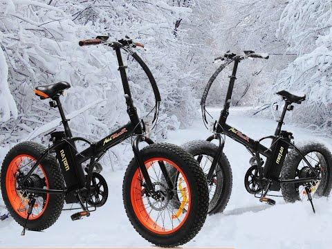 "Addmotor Motan M-150 Folding 20"" inch Fat Tire Electric Ebike Bicycle"