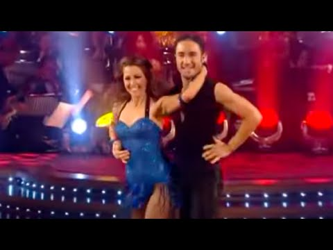Rachel Stevens and Vincent Simone's showdance - BBC