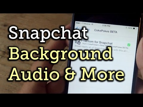 Record a Snapchat Video While Listening to Music on iOS 8 [How-To]