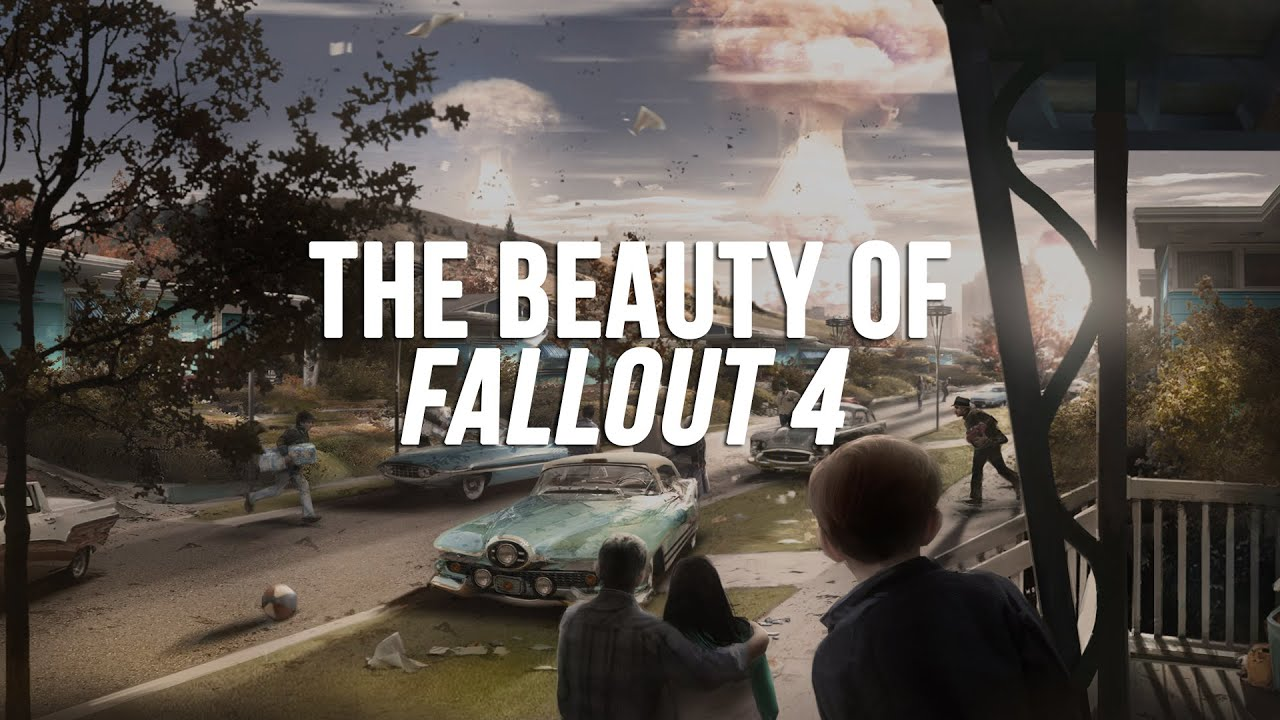 THE BEAUTY OF FALLOUT 4 | HD