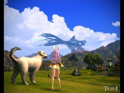 Tera Online / lv.31/32 Sorcerer Gameplay in Freeholds