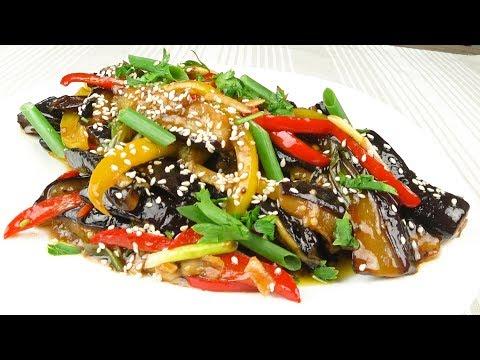 Баклажаны в кисло-сладком соусе  Супер закуска | Eggplants In Sweet-sour Sauce  Super Snack