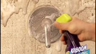bathroom cleaner kaboom shower tub