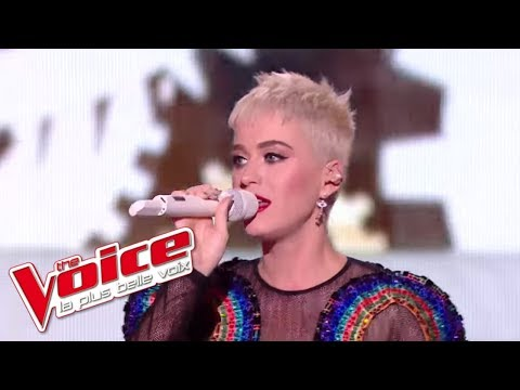 Chained to The Rhythm | Katy Perry et les talents de The Voice | The Voice France 2017 | Live